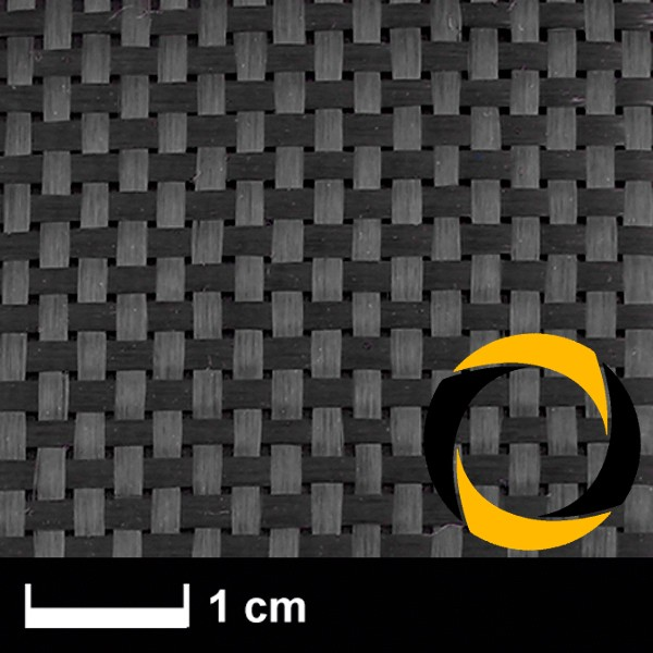 Kohlegewebe 160 g/m² (Non Aero, LW) 100 cm